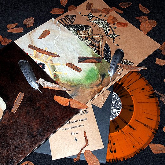 The Special Edition features splatter color vinyl, handprinted artwork and a bonus EP...