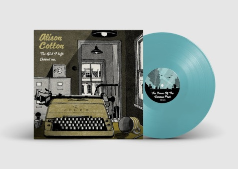 Alison Vinyl Record PSD MockUp